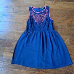 Blue Rain by Francesca's Dress
